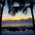 Sunset - Oahu West Shore by Joe Carini - Printscapes