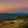 Sunset Above Craigs Hut  In The Victorian Alps, Australia by Miroslav Liska
