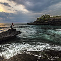 Sunset At Bali by Jijo George