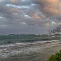 Sunset At Kapaa - Kauai by Yefim Bam