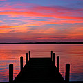 Sunset Dock by Scott Mahon