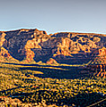 Sunset In Sedona by Alexey Stiop