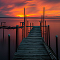 Sunset On The Bay by Randy Kostichka
