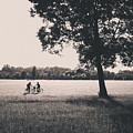 Sunset @park by Alfio Finocchiaro