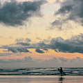 Sunset Surfing by Lost River Photography