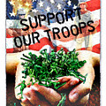 Support Our Troops by Ernestine Grindal