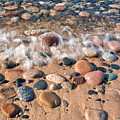 Surf And Stones by Tim Trombley