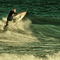 Surfing - Jersey Shore by Angie Tirado
