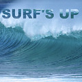 Surf's Up by Barefoot Bodeez Art