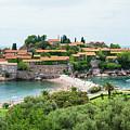 Sveti Stefan, Montenegro by Ruth Hofshi