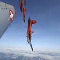 Swiss Air Force Display Team, Pc-7 by Daniel Karlsson