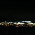 Sydney City Harbour Sunset Skyline In Australia  by Jacek Malipan