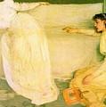 Symphony In White No 3 James Abbott Mcneill Whistler by Eloisa Mannion
