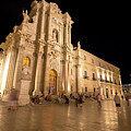 Syracuse, Sicily, Italy - Ortigia Downtown In Syracuse By by Paolo Modena