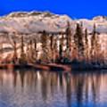 Talbot Lake Afternoon Panorama by Adam Jewell