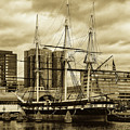 Tall Ship In Baltimore Harbor by Pixabay