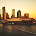 Tampa At Sunset by Pixabay