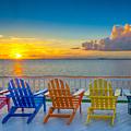 Tampa Bay Sunset by Lance Raab