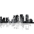 Tampa Florida Skyline by Marlene Watson