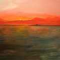 Tangerine Sky by Julie Lueders