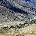 Tangsey Village Landscape Of Leh Ladakh Jammu And Kashmir India by Rudra Narayan  Mitra