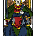 Tarot Card Justice by Granger
