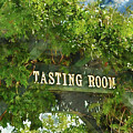 Tasting Room Sign by Brandon Bourdages