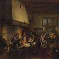 Tavern Scene by Adriaen van Ostade