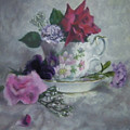 Teacup Rose by Jill Brabant