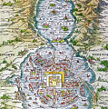 Tenochtitlan (mexico City) by Granger