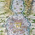 Tenochtitlan (mexico City) by Granger