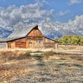 Teton Barn by David Armstrong