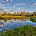 Teton Sunrise by Stacy White