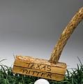 Texas Golf Putter. by W Scott McGill