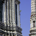Thailand Temple Architecture by Anthony Totah