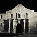 The Alamo At Night - San Antonio Texas by Gregory Ballos