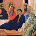 The Apostles Of Maria Fragment 1311  by Duccio