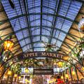 The Apple Market Covent Garden London by David Pyatt