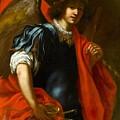 The Archangel Michael by Jacopo Vignali