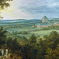 The Archdukes Hunting by Jan Brueghel the Elder