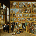 The Art Collection Of Archduke Leopold Wilhelm In Brussels by David Teniers the Younger