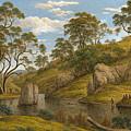 The Bath Of Diana. Van Diemen's Land by John Glover