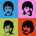 The Beatles Colors by Geek N Rock