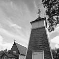 The Bellfry And The Church Of Kustavi by Jouko Lehto