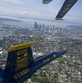 The Blue Angels Over Seattle by Celestial Images