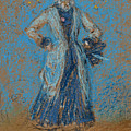 The Blue Girl by James Abbott McNeill Whistler