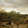 The Bowling Game by Jan Steen