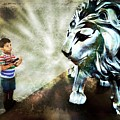 The Boy And The Lion 3 by Jean Francois Gil