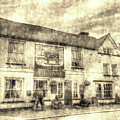 The Bull Pub Theydon Bois Vintage by David Pyatt