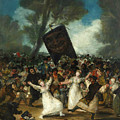 The Burial Of The Sardine by Francisco Goya